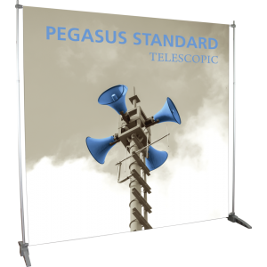 Pegasus Standard Telescopic Banner Stand
