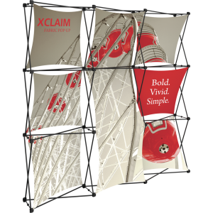 Xclaim 8ft Fabric Popup Display Kit 05